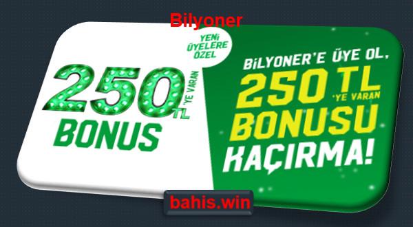 bilyoner bonus